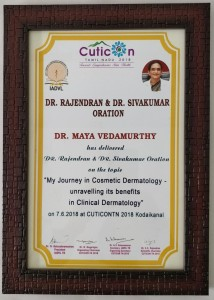 Dr.Rajendran and Dr.Sivakumar Oration June 2018