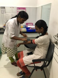 Laboratory investigations done free of cost     WORLD VITILIGO DAY, JUNE 2018