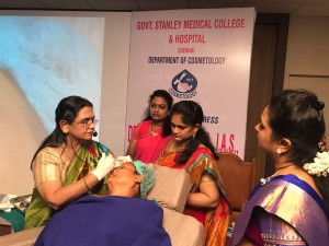 COSMETOLOGY WORKSHOP AT STANLEY MEDICAL COLLEGE, CHENNAI