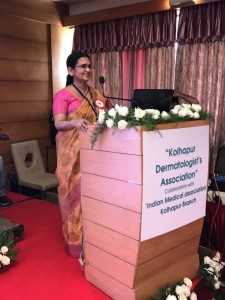 Speaker at Kohlapur, Indian Medical Association