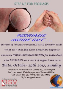 World Psoriasis Day Banner